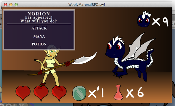 Almost done with Wooly Marenal RPG