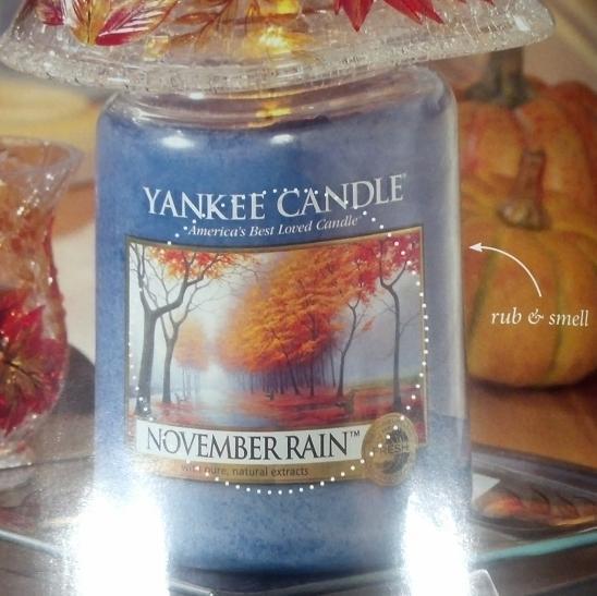 November Rain: The candle