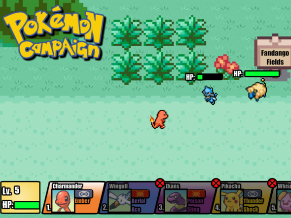 Pokemon Campaign Demo 0.3