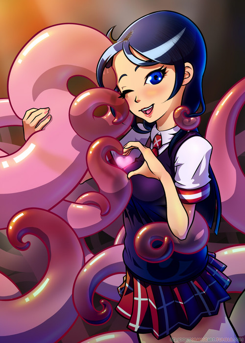 Schoolgirls Love Tentacles is on Kickstarter!