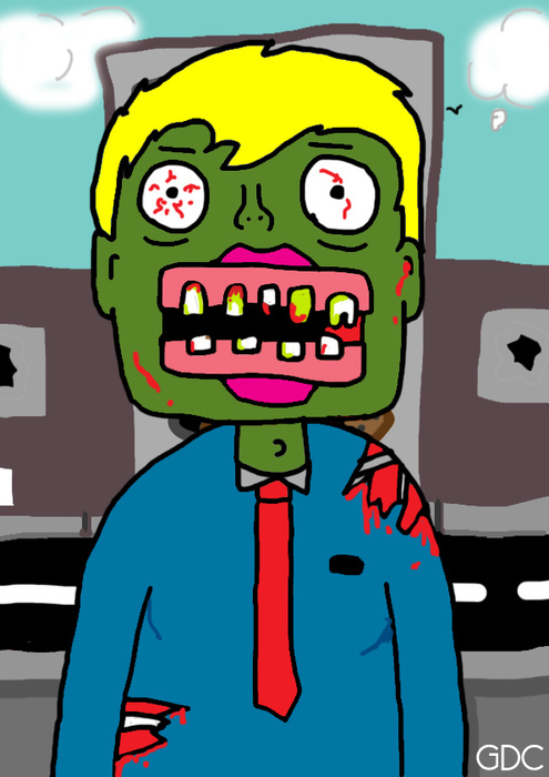 Character Design #2 :Zombie
