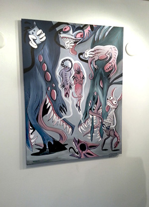 New painting, new expo, new updates