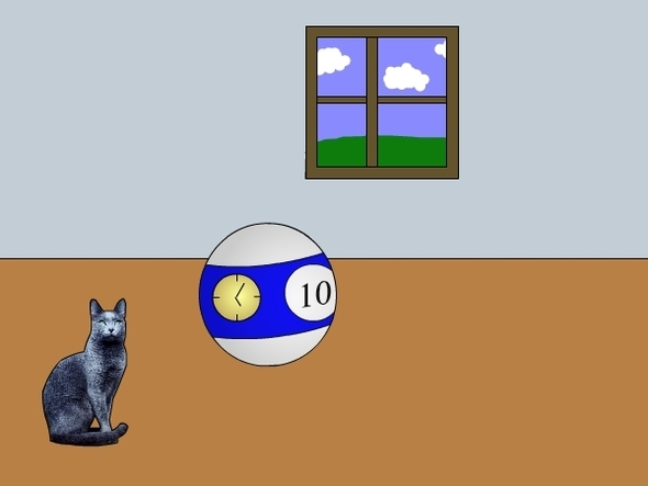 GreyClock's New Cat
