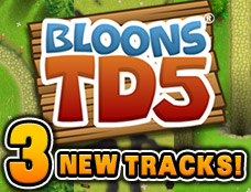 Bloon TD 5 New Track