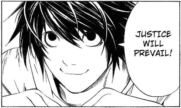 Just finished Death Note.