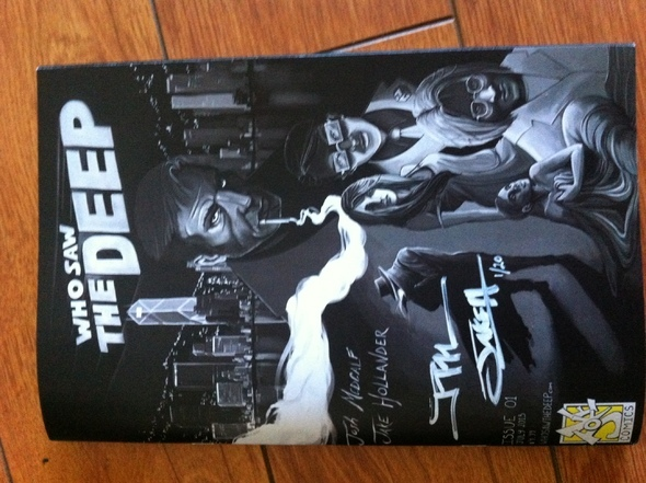Who Saw The Deep! Issue #1: Hangman for sale
