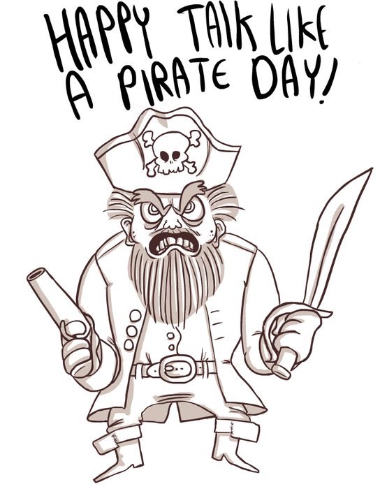 ARG! Happy pirate day!