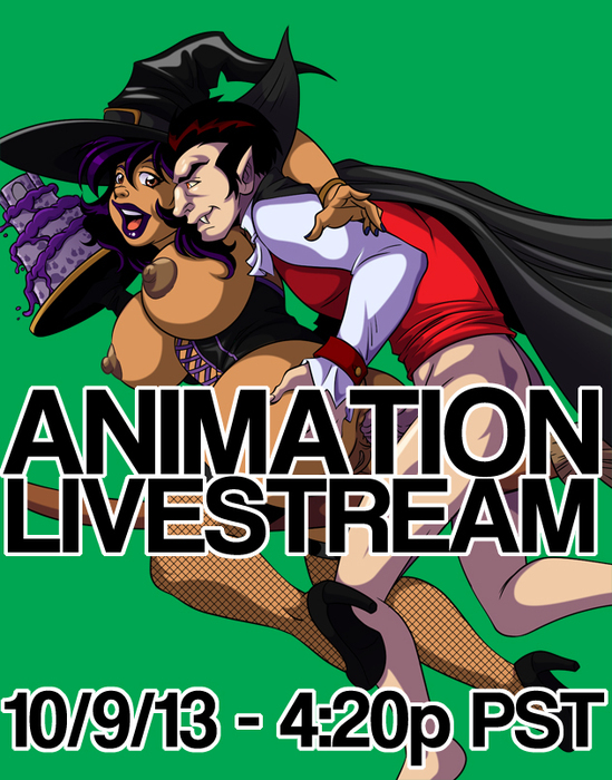 animation livestream(18+)