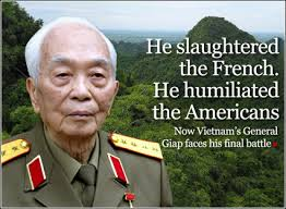 General Giap has died