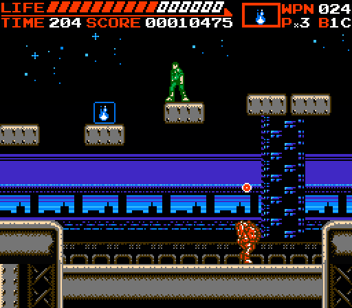 Suprise NES shot