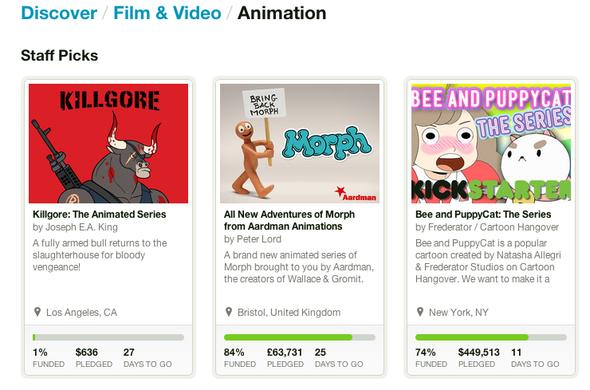 Killgore Kickstarter Staff Pick