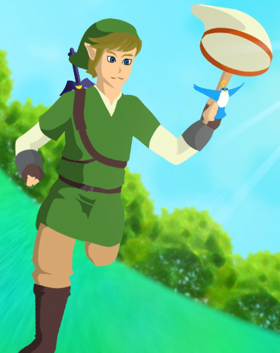 LoZ: Link the Chirri Chaser
