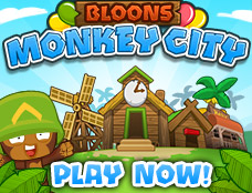 Bloons Monkey City, Play It!
