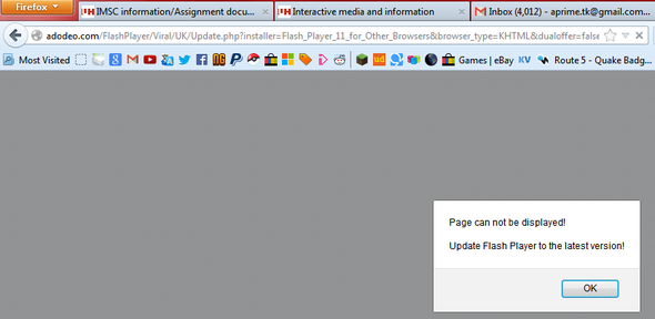 HELP! I can't get on Newgrounds!!