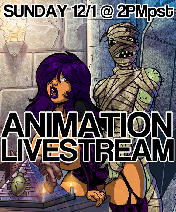Sunday Animation Livestream (18+)