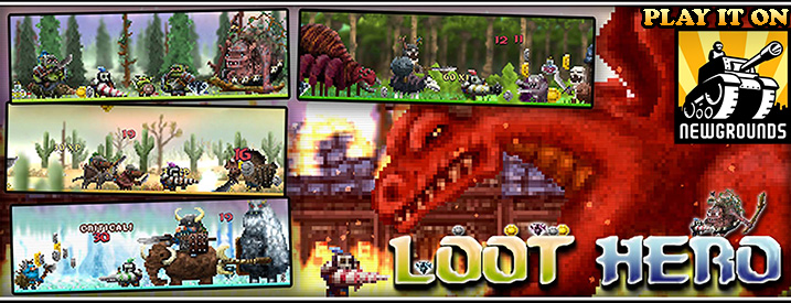 Play Loot Hero on Newgrounds