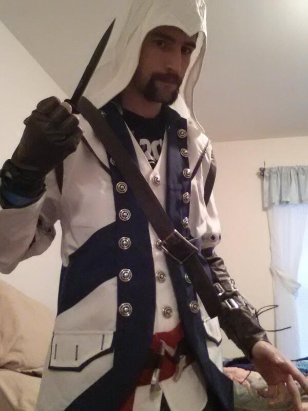 And Give Props To This Man In The Assassins Creed Outfit Truly Bauwsin It