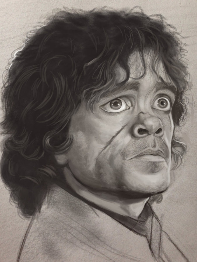 Game Of Thrones Drawings Tyrion My drawing of tyrion from game of ...