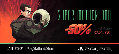 Super Motherload 50% off