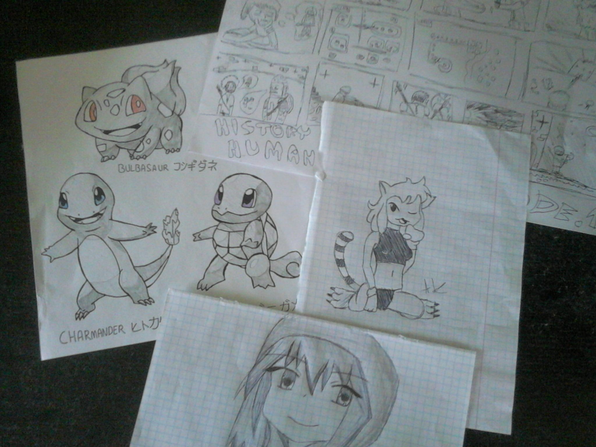 few drawings