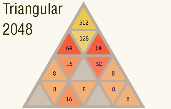 Triangular 2048 on NG