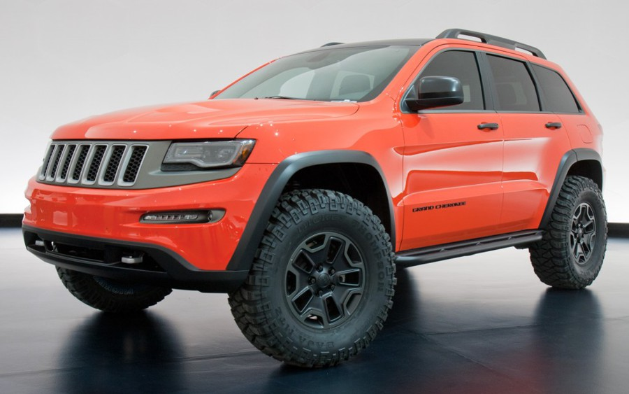 2013 jeep grand cherokee trailhawk ii concept conceptcarzcom autos post. Black Bedroom Furniture Sets. Home Design Ideas