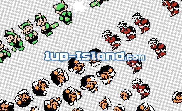 1up-Island Sprites