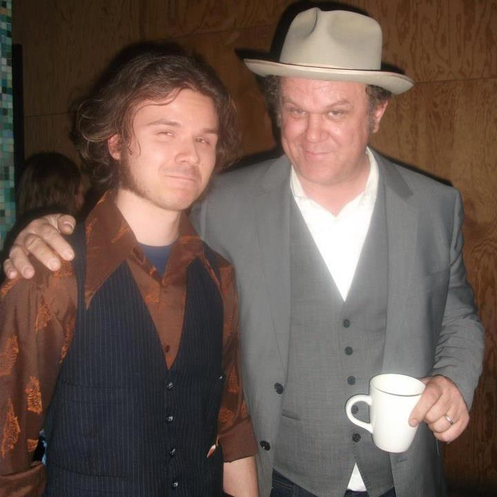 yup thats me and bagboy...errr i mean John C reilly