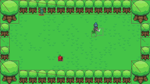 Debug shapes are great.
