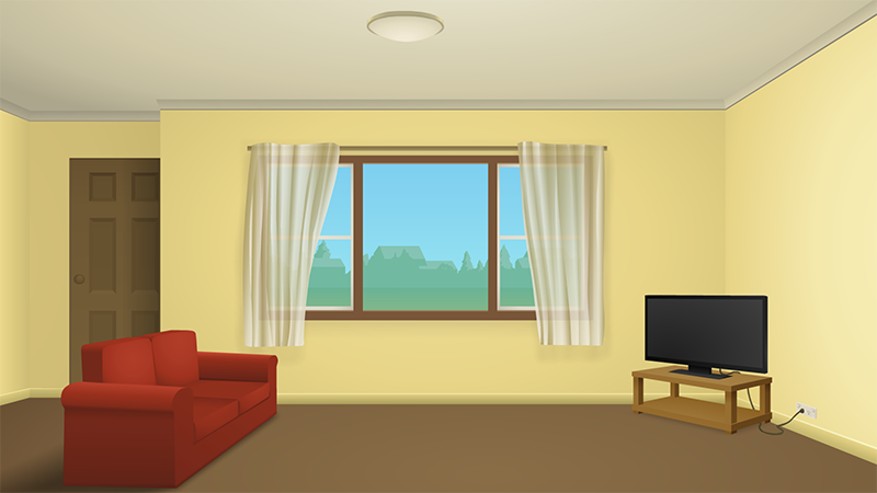 I39ll Draw Some Free Backgrounds For Your Animation SaveEnlarge Living Room