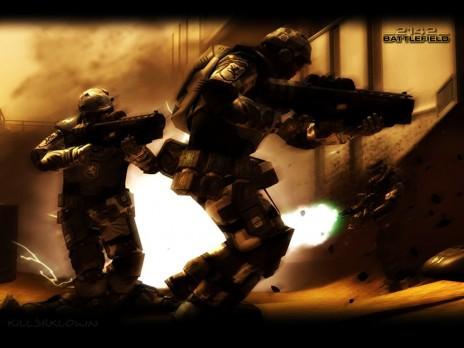 warhammer,battle feild 2142 and animations