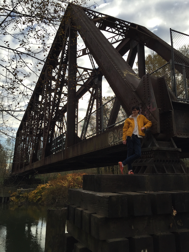 me in seattle with BRIDGE