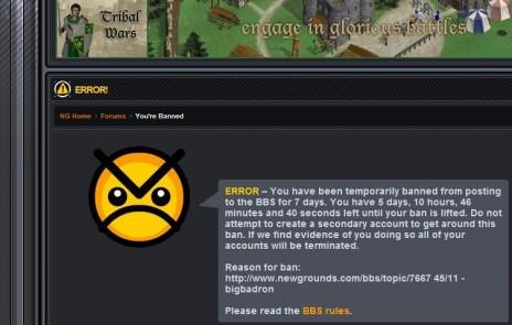 7 Day Ban
