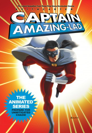 Captain Amazing Lad DVD!