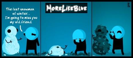 MoreLikeBlue: Winter