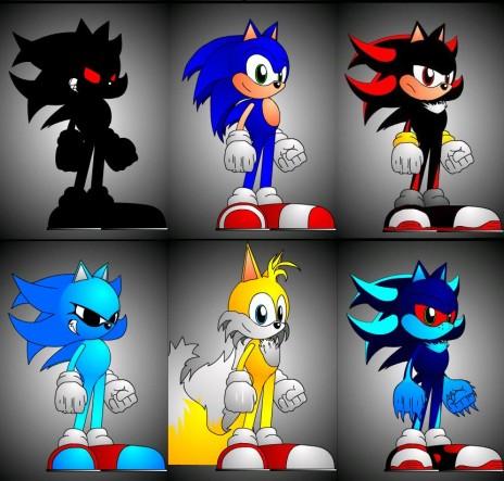 sonic character designer by sonictherocker