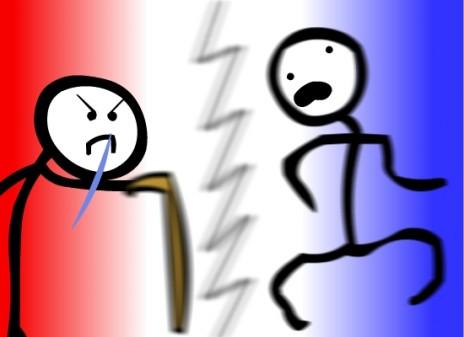 CRIPPLE FIGHT PART 1