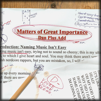 New Album: Matters of Great Importance