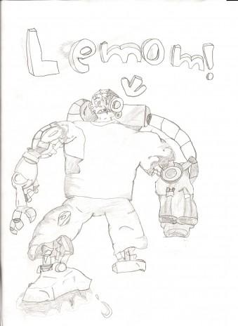 I drew Lemom!!