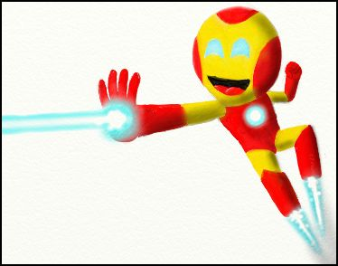 Iron Boy!!
