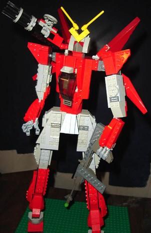 New LEGO Gundam project!
