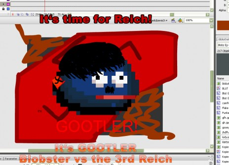 Blobster vs the 3rd Reich!