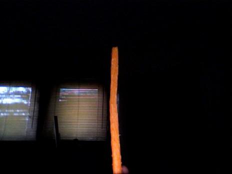 How I eat carrots...
