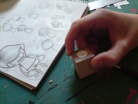 Toy in production