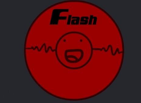 Frisbeeee flash