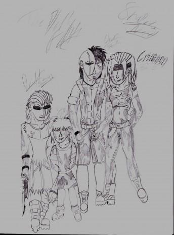 Completed Evil Children Sketches!