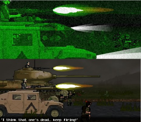 Big Guns and Night Vision