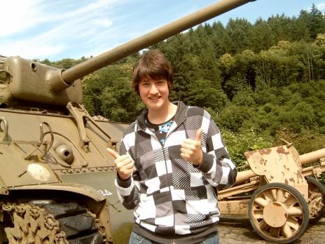 Hey Steve! I've found your tank.