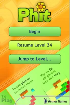 Get Phit for the iPhone & iPod Touch