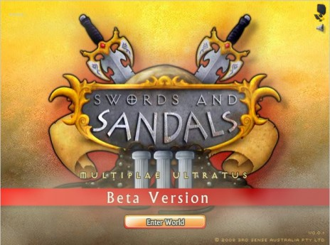 Come and try Swords and Sandals III beta!